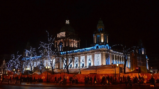 Belfast Christmas Market, Northern Ireland