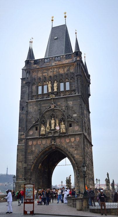 Charles Bridge Tower, Prague, Czech Republic
