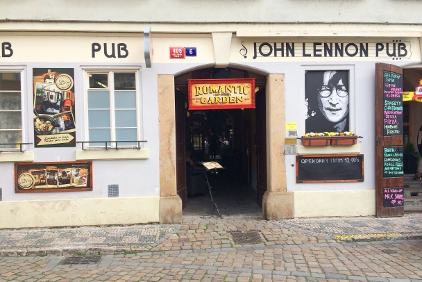 John Lennon Pub, Prague, Czech Republic