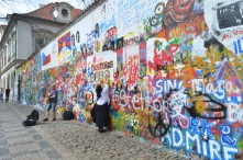 John Lennon Wall, Prague, Czech Republic