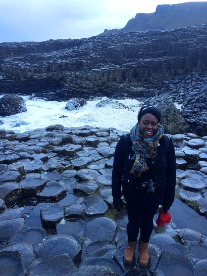 Me at The Giant's Causeway, Northern Ireland