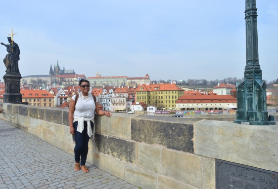 Me on Charles Bridge, Prague, Czech Republic