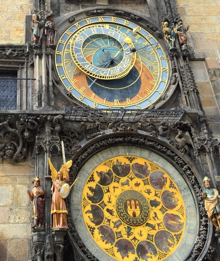 Prague Astronomical Clock, Czech Republic