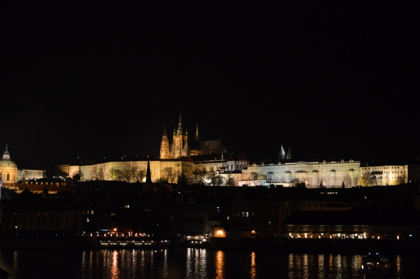 Prague at Night, Czech Republic