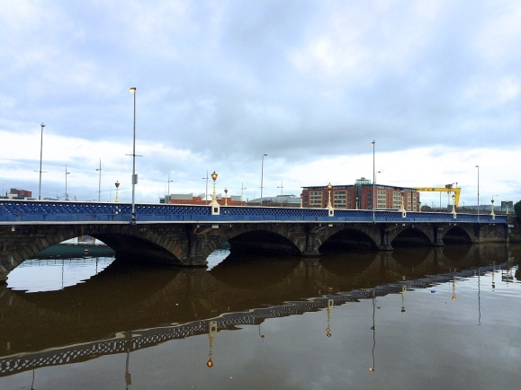 Queen's Bridge, Belfast, Northern Ireland