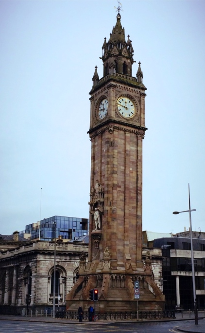 The Albert Clock Tower, Belfast, Northern Ireland