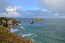 View from Carrick-a-Rede, Northern Ireland