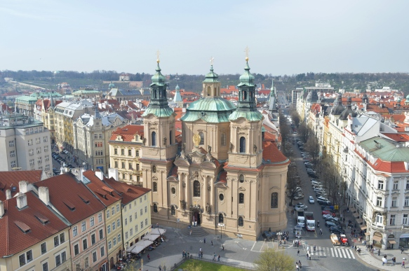 View from Old Town Hall Tower, Prague, Czech Republic