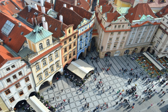 View Old Town Hall Tower, Prague, Czech Republic