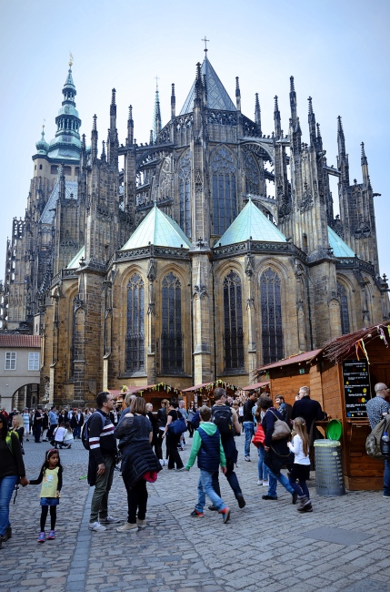 Wenceslas Cathedral, Prague, Czech Republic