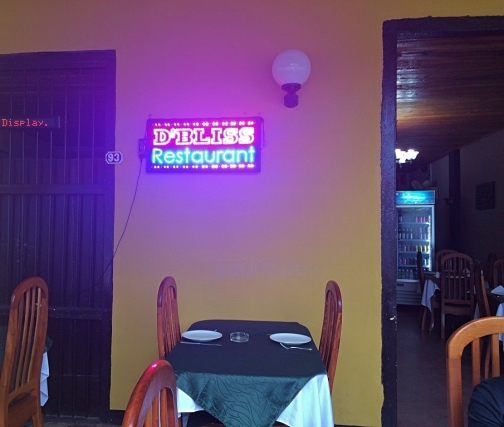 D'Bliss Restaurant, Vinales, Cuba