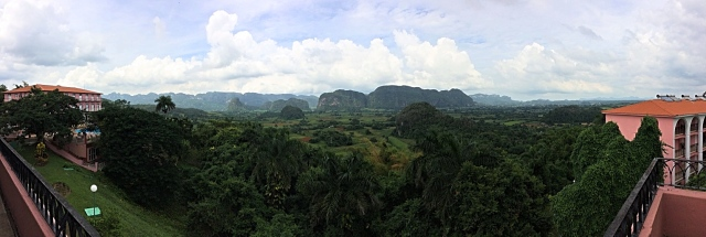 View from Hotel Los Jazmines, Vinales, Cuba