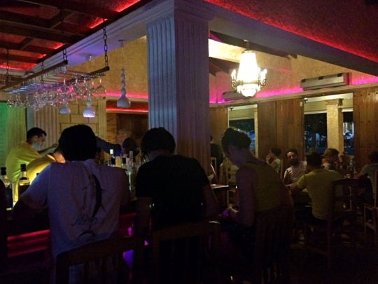 Inside Bar 3J, Vinales, Cuba