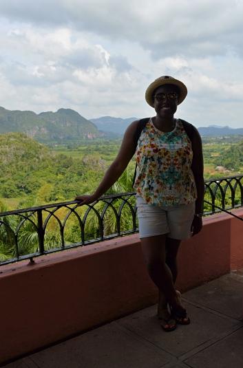 Me at Hotel Los Jazmines, Vinales, Cuba
