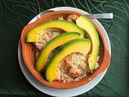 Meal at D'Bliss Restaurant, Vinales, Cuba