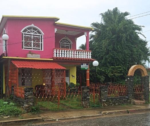 Pink House, Vinales, Cuba