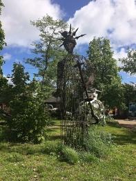 Christiania Statue of Liberty, Copenhagen, Denmark