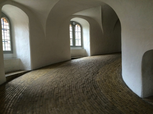 Inside The Round Tower, Copenhagen, Denmark