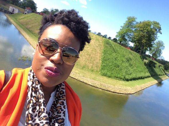 Me at Nordre Tolbold Park, Copenhagen, Denmark