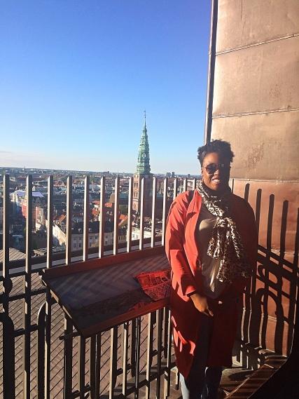 Me on Tarnet Tower, Copenhagen, Denmark