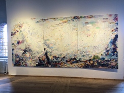 Some Art in The Round Tower Gallery, Copenhagen, Denmark