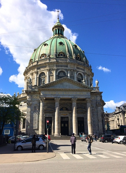 The Marble Church, Copenhagen, Denmark