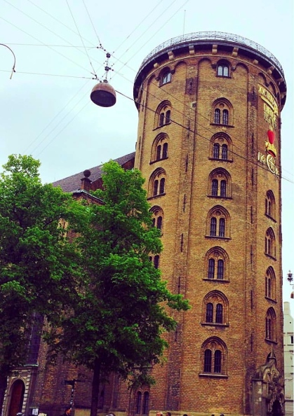 The Round Tower, Copenhagen, Denmark