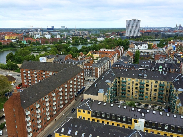 View from Church of Our Saviour, Copenhagen, Denmark