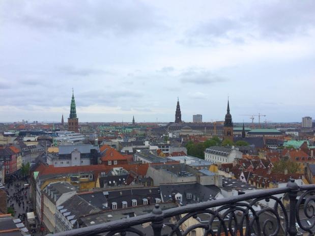 View From The Round Tower, Copenhagen, Denmark