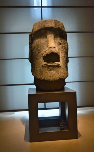 Easter Island Sculpture, Louvre Museum, Paris, France