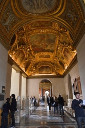 Inside the Louvre Museum, Paris, France