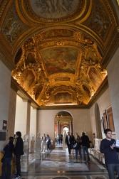 Inside the Louvre Museum, Paris, France