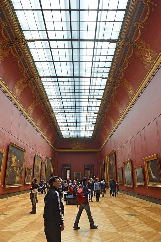 Inside the Louvre Museum, Paris, France 3