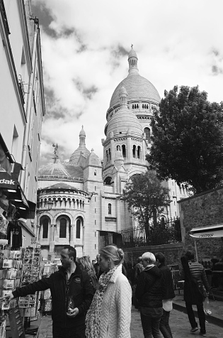 Sacre Coeur, Paris, France