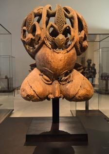 Sculpture Bamendou, Louvre Museum, Paris, France