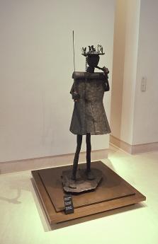 Sculpture Fon, Louvre Museum, Paris, France