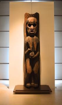 Sculpture, Kwakwaka'wakw, Louvre Museum, Paris, France