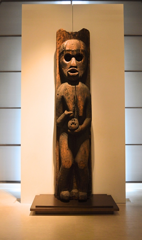 Sculpture, Kwakwaka'wakw, Louvre Museum, Paris, France