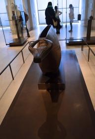 Sculpture Yangere, Louvre Museum, Paris, France
