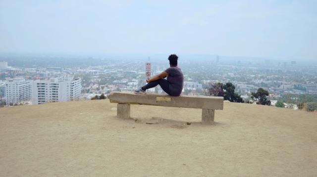 Me at Runyon Canyon Park, Los Angeles, USA